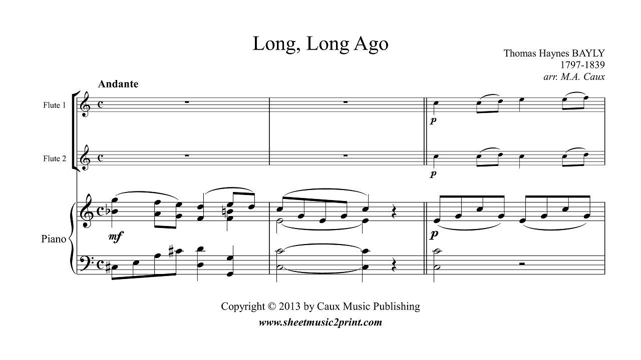 flute duet sheet music