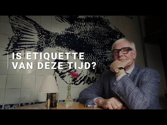 Willem Reimers - Is etiquette van deze tijd?