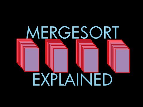How Mergesort Works -- a fast way to put things in order