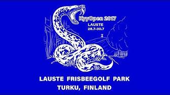 KyyOpen 2017 Lead Card Final Round, Front 9 (Mäkelä, Barsby, HIrsimäki, Koling)