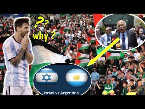 ARGENTINA VS ISRAEL, RAKYAT PALESTINA ANCAM BAKAR JERSEY & FOTO MESSI