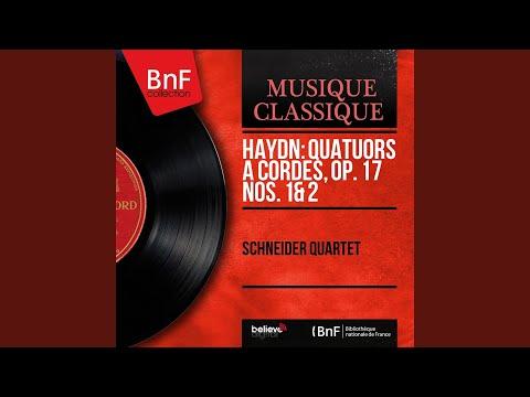 String Quartet in F Major, Op. 17 No. 2, Hob. III:26: I. Moderato