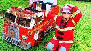 fire truck   car wash