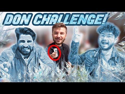 DON CHALLENGE !! ( TELEFONLARIMIZ KIRILDI ) atakan / fatih / bilal / kafalar