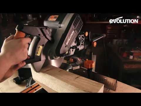 Evolution Rage3-DB Mitre Saw / Miter Saw: DIY iPhone stand Build!