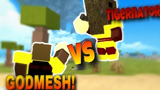 BOOGA FIGHT TIME (PvP) / *GODMESH vs FASTEST HEALER* | ROBLOX BOOGA BOOGA.