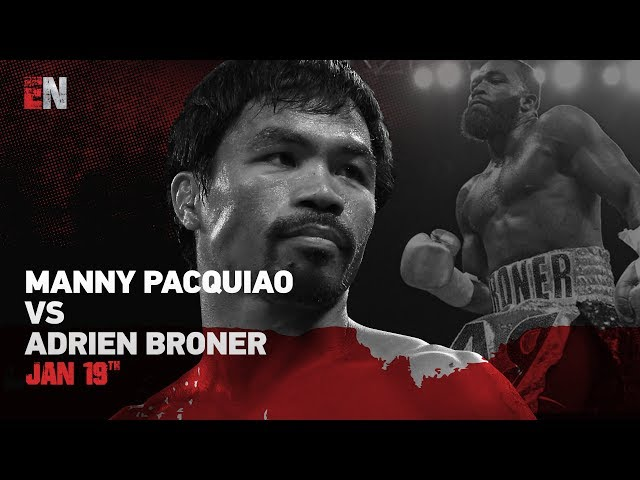 Wow Pacquiao vs Broner weigh in- MUST WATCH!