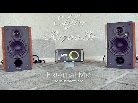 Edifier R1700BT Bluetooth Bookshelf Speakers - Review