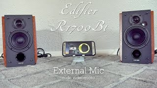 Edifier r1700BT Bluetooth Bookshelf Speakers - Review