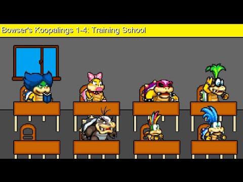 Bowser's Children 1-4: Training School