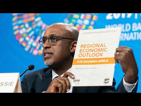 Press Briefing - Regional Economic Outlook: Sub-Saharan Africa, October 2019