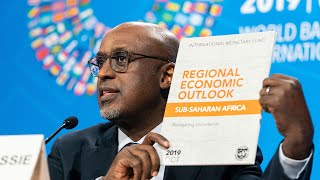 Press Briefing - Regional Economic Outlook: Sub-Saharan Africa, October 2019