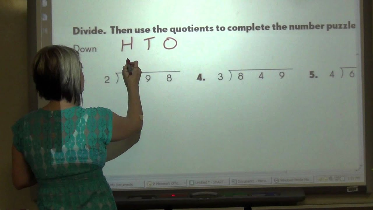 4th Grade - Math In Focus - Chapter 3 - YouTube