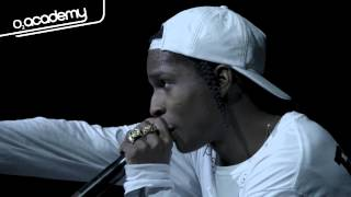 Asap Rocky Live Wild For The Night Live At O2 Academy Brixton
