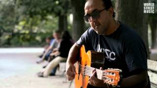 Paris Street Music : Amazing Gypsy Guitar (HD)