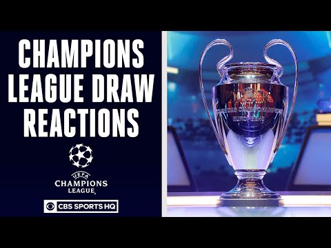 PSG has CLEAR PATH to Champions League final, full reactions to UCL Draw  CBS Sports HQ