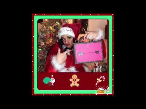 Five Blessings of Christmas Giveaway Showing My Santa Outfit Rosa's Beauty Fashion