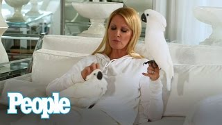 Sandra Lee Interviewed by Her Birds Halo and Phoenix | People
