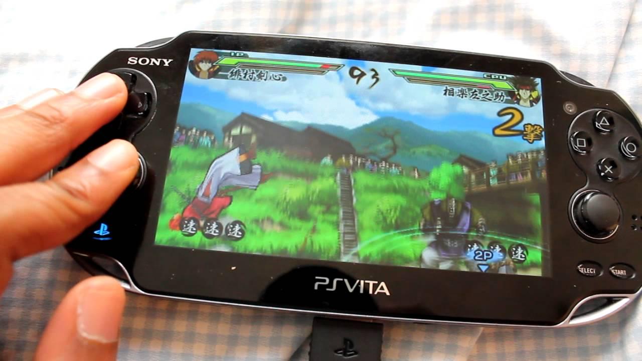 PSP iso loader for Ps Vita