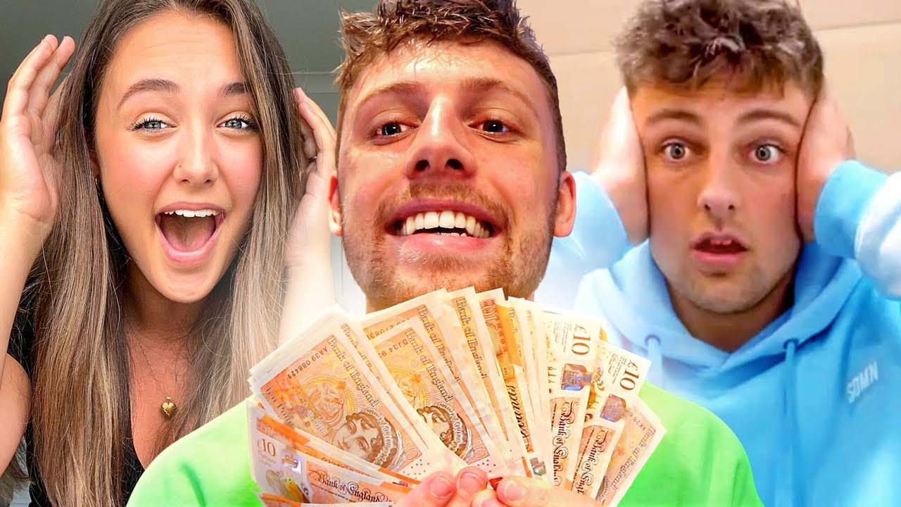 Spending $10,000 in 10 MINUTES on my BRO & SISTER
