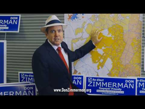 Don Zimmerman D6 Council  30 sec Spot v3 -- Parody don't be this me