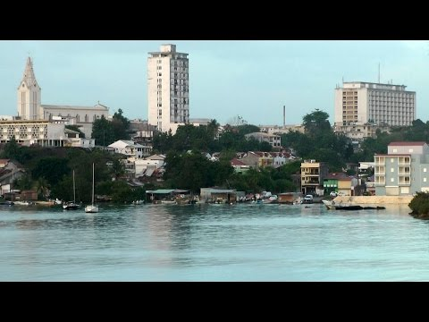 Caribbean Sea - Guadeloupe Pt.04 - farewell from Pointe-à-Pitre city
