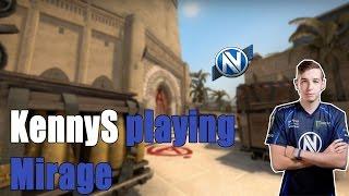 EnVyUs kennyS playing CS:GO mm on mirage (twitch stream)