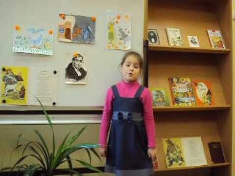 Изображение предпросмотра прочтения – ЕкатеринаКостюхина читает произведение «Стрекоза и Муравей» И.А.Крылова
