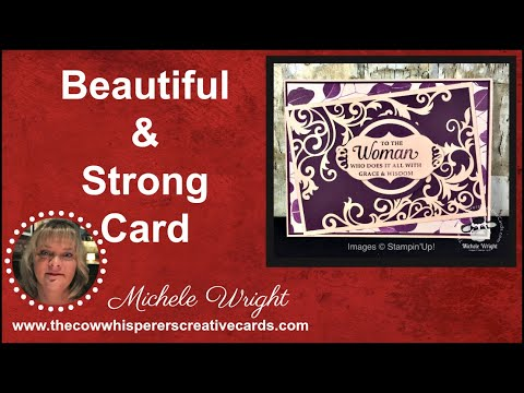 Strong & Beautiful Mother's Day Card