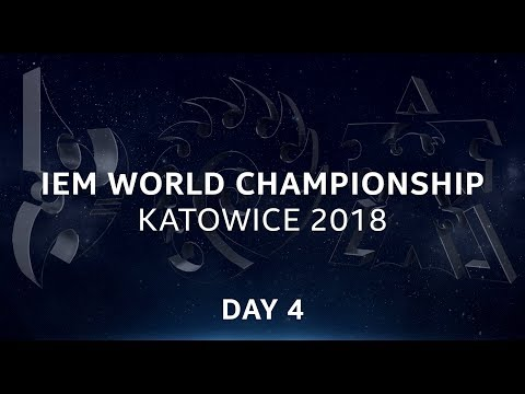 Live: SC2 - Day 4 - IEM World Championship Katowice 2018