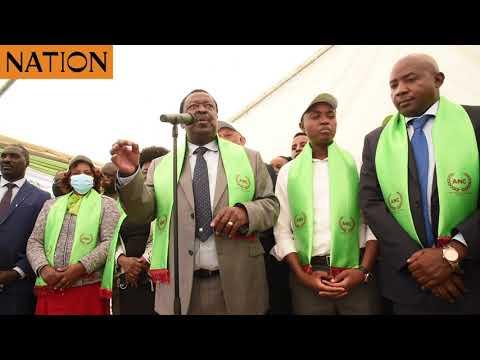 ANC party unveils new Secretary-General Simon Kamau