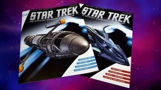 Star Trek Starships Collection # 64 : Zefram Cochrane's Phoenix & # 65 : Zindi Aquatic Cruiser