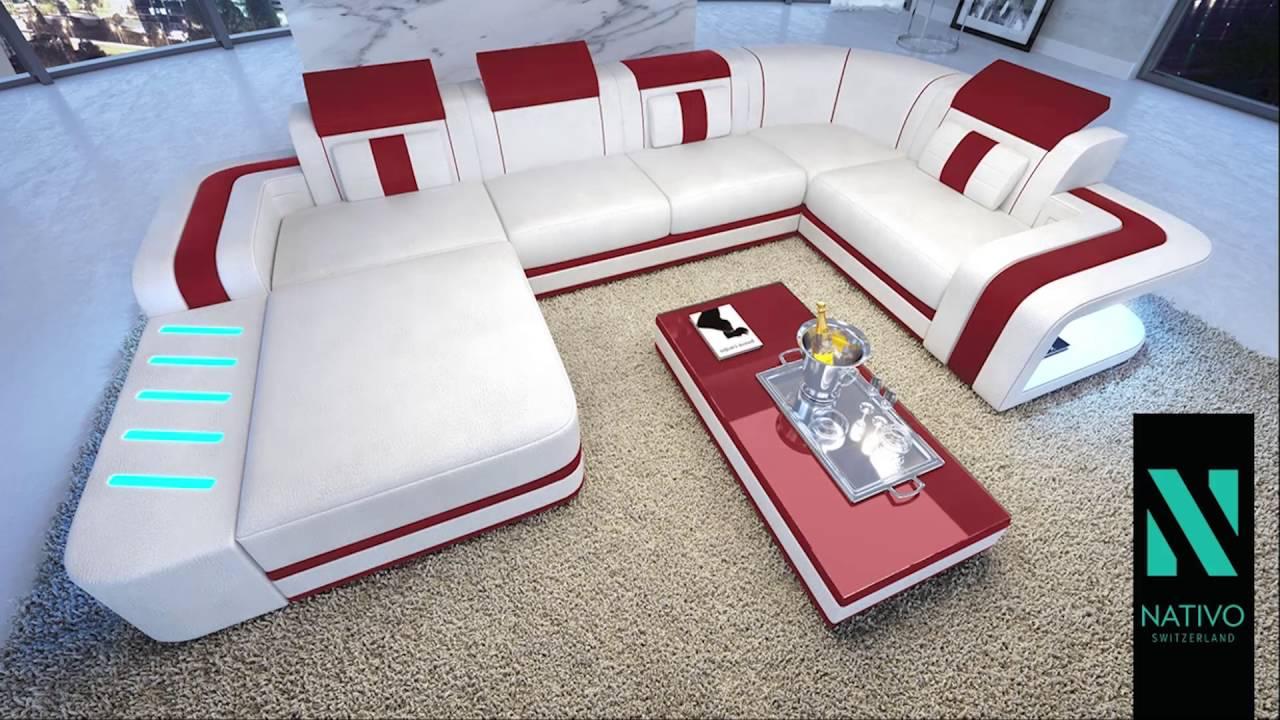 Nativo Möbel Schweiz - Designer Sofa SPACE XL - YouTube