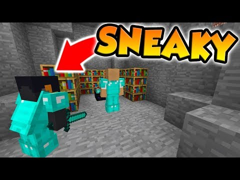 Minecraft   FRIEND OR FOE?   BREAKING INTO PEOPLE'S BASES! (15)