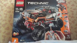 Lego Technic 9398 4x4 Crawler Build