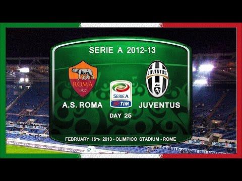 Serie A 2012-13, AS Roma - Juve (Full, RU)