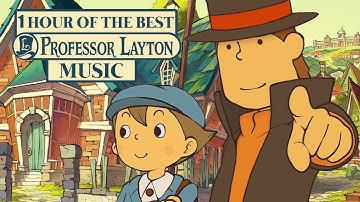1 Hour of the Best Professor Layton Music