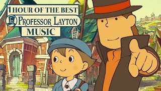 1 Hour of the Best Professor Layton Music