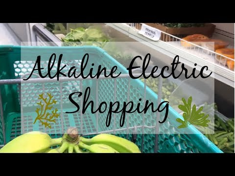 ALKALINE ELECTRIC GROCERY SHOPPING PLUS HAUL