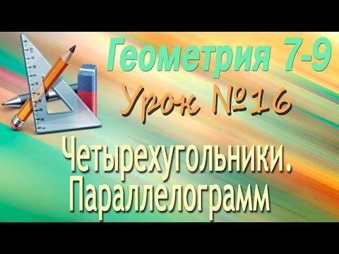 Видеоурок по геометрии (8 класс) по теме: Центральная и