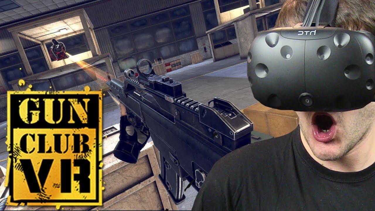 WIRTUALNA STRZELNICA – Gun Club VR (HTC VIVE VR)