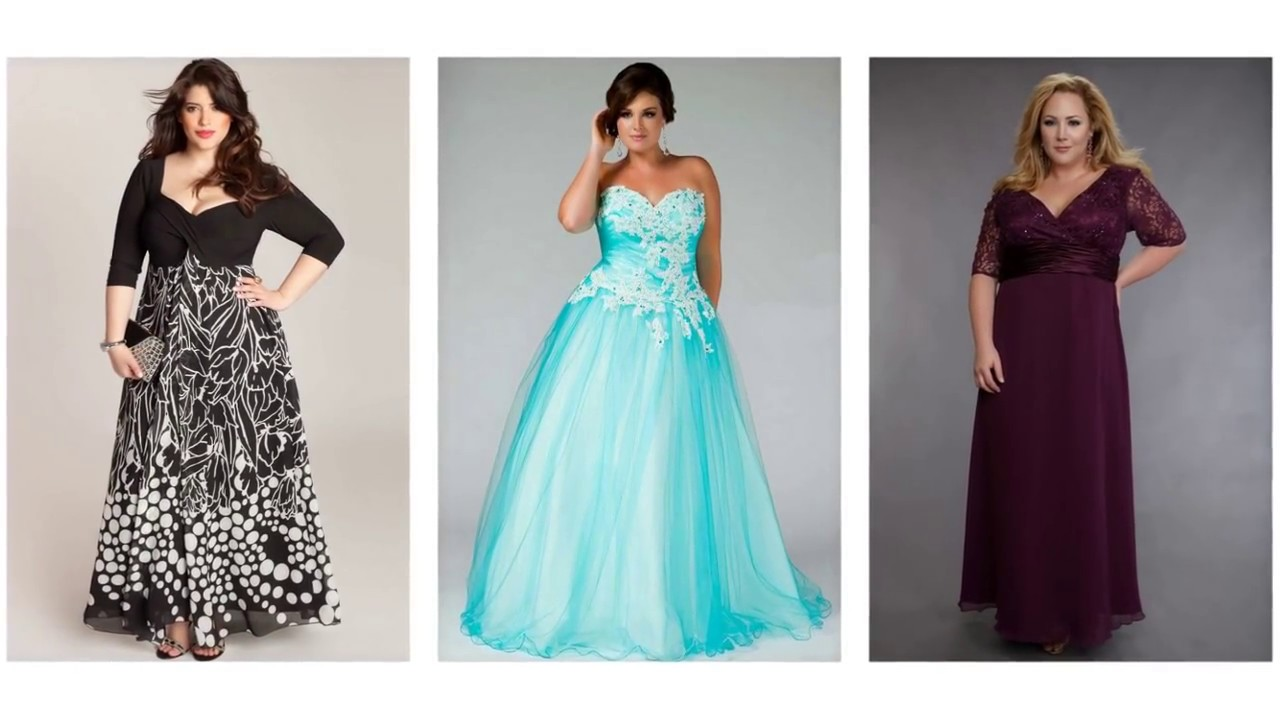 Top 100 Plus size formal dresses, plus size prom dresses - YouTube