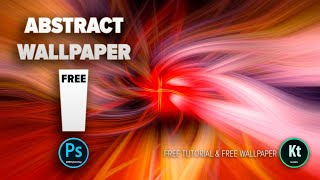 Abstract Fibers Effect #2 - Wallpaper Background in Adobe Photoshop CC 2019