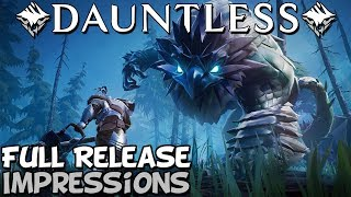 Revisiting Dauntless in 2019