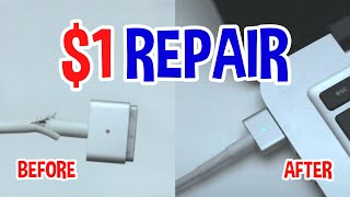 How to Repair Apple MagSafe Power Cord without damaging Power Brick (short version)