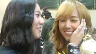 2009 dream concert back stage f x shinee girls generation