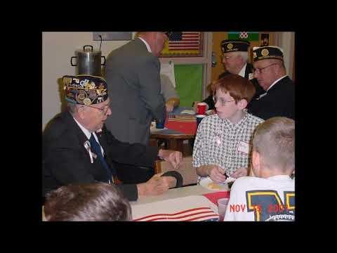 Veterans Day 2001 New Market Middle School,