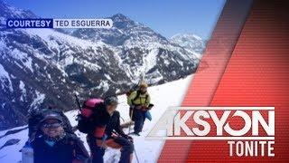 Pinay mountaineer, natapos na ang kanyang 7 Summits Challenge
