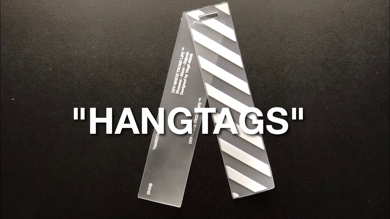 What To Do With Your Off White Hangtags