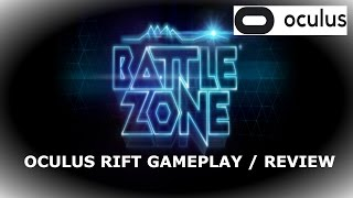New BATTLEZONE Pc Oculus Rift | Gameplay / review